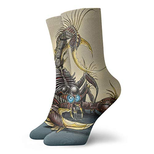 YUANSHAN Socks Iron Scorpion Women & Men Socks