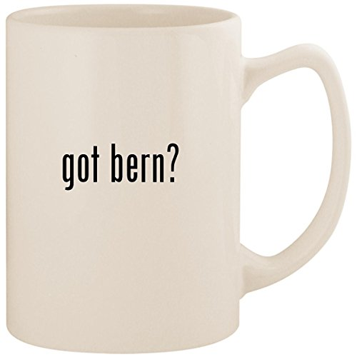 got bern? - White 14oz Ceramic Statesman Coffee Mug Cup - Macon Knit Hard Hat