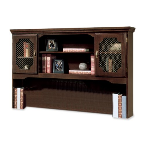 - DMI 735047 Governors Series 60 by 13 by 46-Inch Hutch for Kneespace Credenza, Mahogany