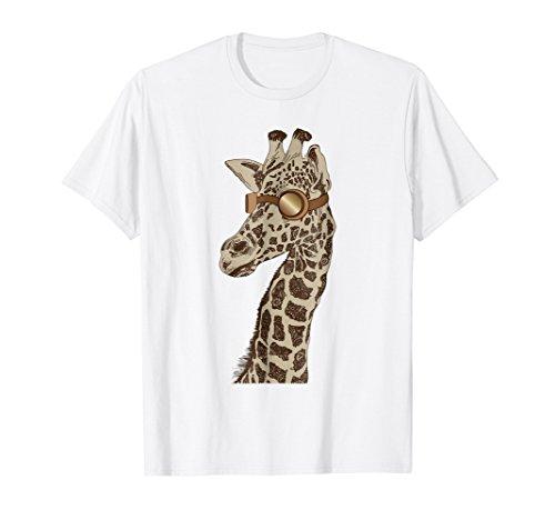 19th Century Shirts - Giraffe Face Shirt - Steampunk Shirt