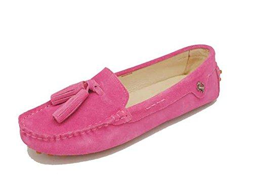 Minitoo , Sandales Compensées femme - Violet - rose, 36 2/3