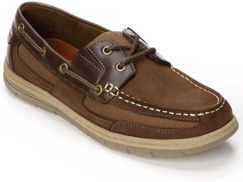 Croft \u0026 Barrow Brown Boat Shoes - Men