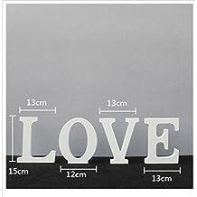 Wooden LOVE Letter-shaped Wedding Decoration 15x13x2CM