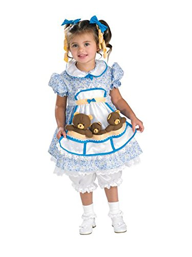 [Goldilocks Toddler/Child Costume] (Goldilocks And Bear Costumes)
