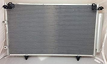 OCPTY Aluminum AC A//C Condenser 3052 Brand New Replacement fit for2002-2006 Toyota Camry