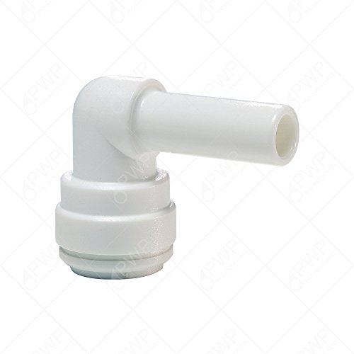 - John Guest Push-to-Connect Elbow adapters, Polypropylene, 3/8