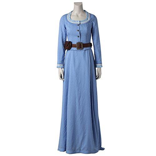 CosplayDiy Women's Dress Sets for Westworld Dolores Abernathy Cosplay S ()