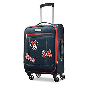 Image of American Tourister Carry-on, Minnie Mouse Denim Luggage