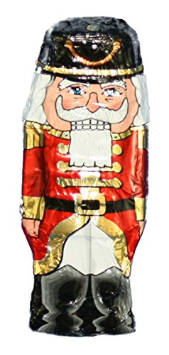 Foil Wrapped 1 Ounce Christmas Chocolate Figures - Nutcracker made in New England