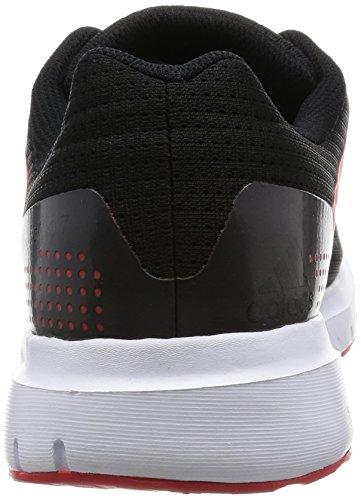 adidas Duramo 7 M - Zapatillas de running, Hombre Negro / Rojo (Negbas / Negbas / Rojint)