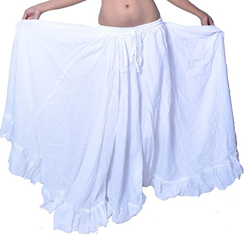 15 Yard Belly Dancing Skirt for ATS (White) - Skirt Sold Separately