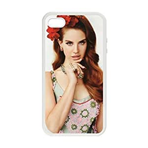 Lana Del Rey Pattern Image Case Cover Hard Plastic Case Iphone 4s / Iphone for Iphone 4 4s
