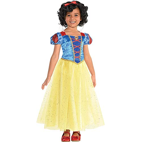 Suit Yourself Classic Snow White Halloween Costume for Girls, Snow White and the Seven Dwarfs, Small