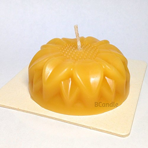 Candle Flower - 100% Beeswax Candle - Decorative Beeswax Candle - 3