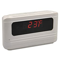 Secuvox Motion Detection HD Covert Camera with Talking Alarm Clock and Six Natural Sound Soothing Music
