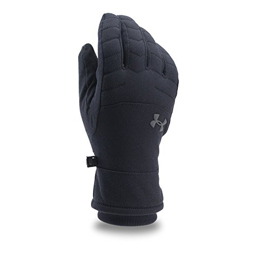 Under Armour Men's Reactor Quilted Gloves, Black (001)/Graphite, Large
