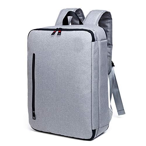 HXG Laptop-Rucksack 16-Zoll-Wasserdichte Reisetasche Mode Lässig Händler   Leichte Männer und Frauen Rucksack Große Kapazität Polyester Hellgrau 433217