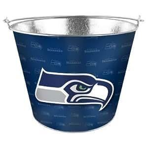 Seattle Seahawks Team Color Metal Beer Bucket