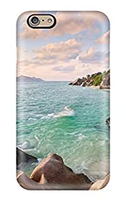 New Diy Design La Digue Beach Seychelles Case For Iphone 5/5S Cover Comfortable For Lovers And Friends For Christmas Gifts