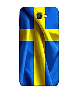 ColorKing Football Sweden 01 Blue shell case cover for Samsung J5 Prime