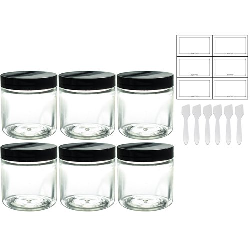 plastic 4oz jars - 5