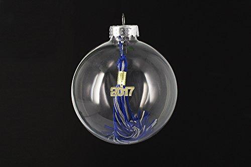 2008 Graduation Tassel - Tassel Depot Graduation Ornament with 2008 Tassel - ROYAL / GRAY