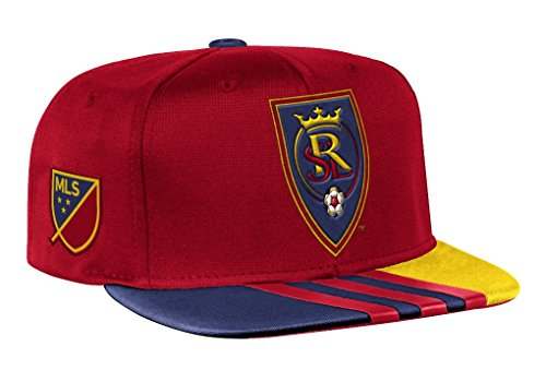 Real Salt Lake Adidas MLS 2017 Authentic Team Performance Snap Back Hat by adidas