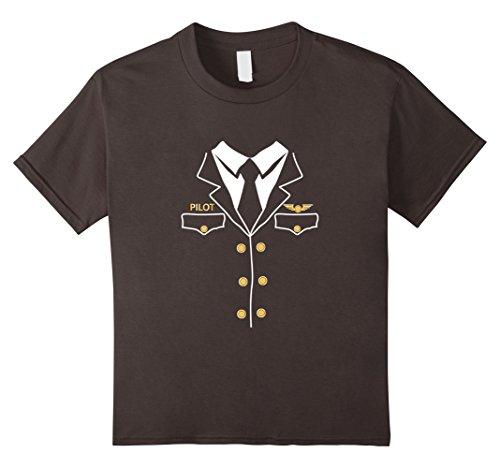 Kids Airline Pilot Halloween Costume t-shirt 10 (Airline Pilot Costume For Kids)