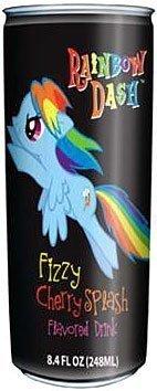 Fizzy Cherry (My Little Pony NonCaffeinated Flavored Drink Rainbow Dash Fizzy Cherry Splash)
