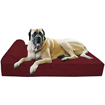 "Amazon.com : Big Barker 7"" Pillow Top Orthopedic Dog Bed"