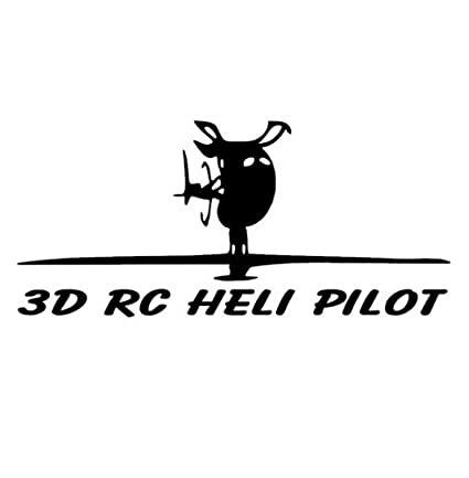 amazon com rc helicopter vinyl decal sticker car graphic heli align