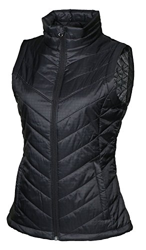 (Columbia Womens Morning Light III Onmi Heat Winter Jacket Vest, Black (010) , Medium )
