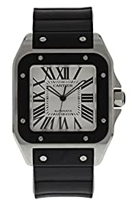Cartier Santos 100 automatic-self-wind mens Watch 2658 (Certified Pre-owned)