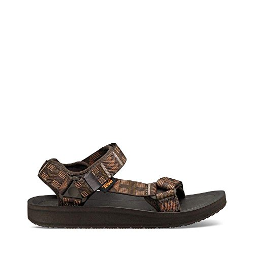 Water Teva Shoes (Teva Men's M Original Universal Premier Sport Sandal, Beach Break Brown, 14 M US)