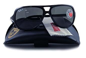 Ray-Ban Sunglasses Rb4162 601/58 Black Crystal Green Polarized