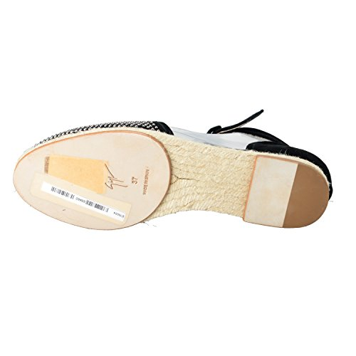 Giuseppe Zanotti Design Womens Strap Espadrillas Flat Shoes Us 6 It 37