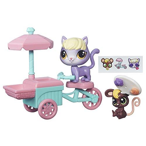 Littlest Pet Shop City Rides Kitten and Mouse Treat - Littlest Pet Kittens Shop