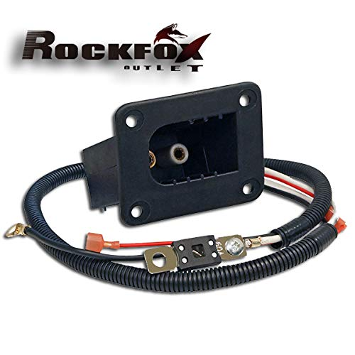 RockFox Outlet EZGO Golf Cart Charging Receptacle Assy for E-Z-GO Powerwise Chargers. (Receptacle Assy)