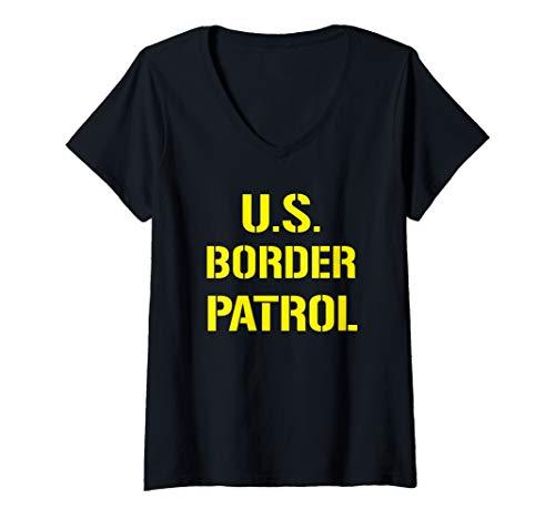 Womens US Border Patrol Customs Police Halloween