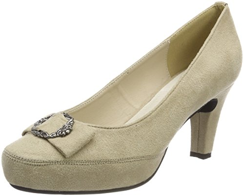 Hirschkogel Dames 3001508 Pumps Beige (taupe)