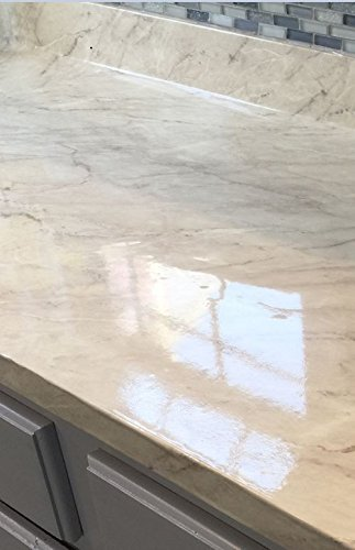 Countertop Paint? NO! Marble Peel and Stick Turkish Cream Grey Marble ...