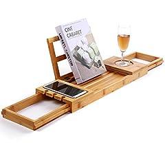 Unique Bamboo Bathtub Tray