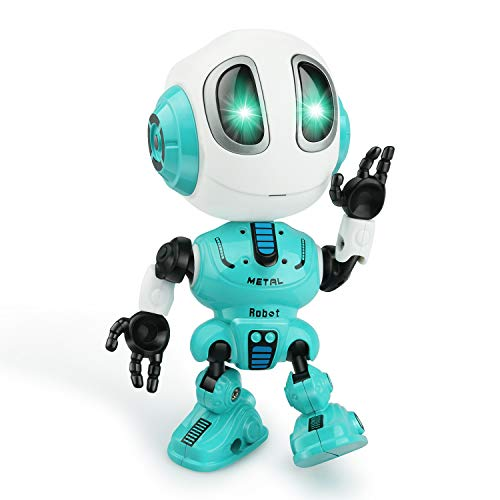 Touber Gifts for 3 4 5 6 7 8 Year Old Boys Girls, Talking Robot for Kids Toys for 3-6 Year Old Boys Girls Popular Toys for 4-8 Year Old Girls Boys Xmas Stocking Stuffers for Boys Girls - Blue