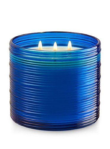 Bath & Body Works 3-Wick Candle in Driftwood Surf (Breeze Round Sea Glass)