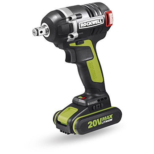 Rockwell RK2855K2 20V Li-ion 3-Speed Brushless Impact Wrench