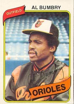 Amazoncom 1980 O Pee Chee Regular Baseball Card36 Al Bumbry Of