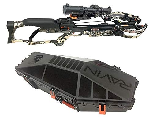 (Ravin R020 Sniper Crossbow Package Predator Camo with Hard Case Bundle)