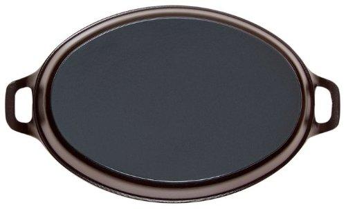 STAUB Oven dish Oval 28cm Black