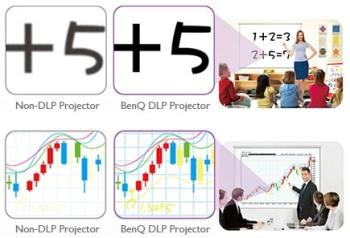 BenQ MW665 Projector with Colorific Technology