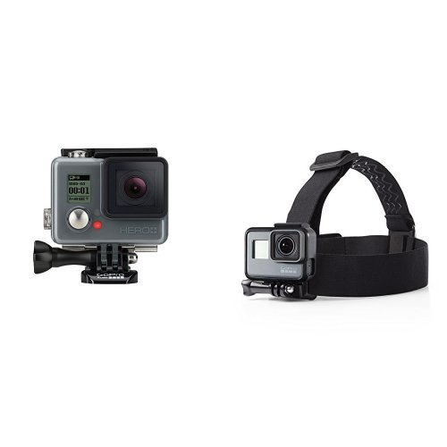 GoPro Hero+ LCD w/ Headstrap [Ecommerce Packaging] Action Cameras